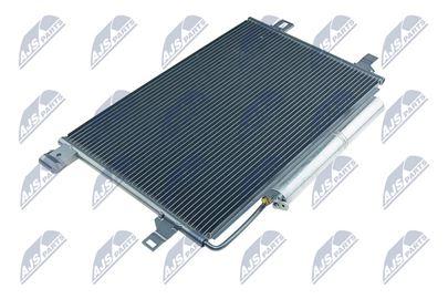 Kondenzátor, chladič klimatizácie MERCEDES A-CLASS W 169 (04-) A 150, B-CLASS W 245 (05-) B 150