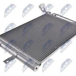 Kondenzátor, chladič klimatizácie OPEL MERIVA A (03-) 1.4 I TWINPORT