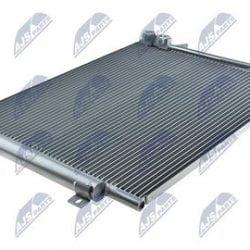 Kondenzátor, chladič klimatizácie VOLKSWAGEN PASSAT CC, B6, B7 1.4 TSI