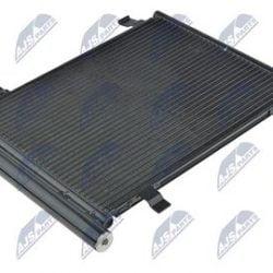 Kondenzátor, chladič klimatizácie VOLKSWAGEN UP (11-) 1.0 I 12V, SKODA CITIGO (11-) 1.0 I 12V