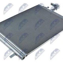 Kondenzátor, chladič klimatizácie VOLVO S60, V60, S80 II 1.6 D, V40 2.0 T, V70 1.6 D, XC 70 2.0 D